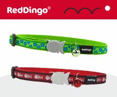 Red Dingo cat collar