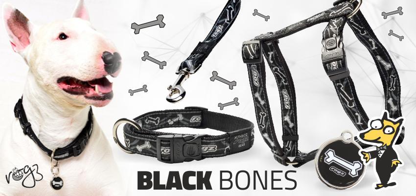 Rogz Black Bones ind en