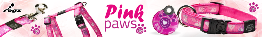 Rogz Pink Paws ce