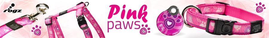 Rogz Pink Paws ci