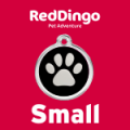 Red Dingo Dog ID Tag Small