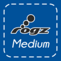 Rogz Hundeleine medium