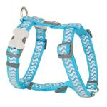 Red Dingo Reflective Ziggy Turquoise Small Dog Harness