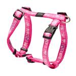 Rogz Fancy Dress Scooter Dog Harness Medium / Pink Paws