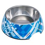Red Dingo dog bowl Large Flanno Turquoise