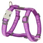 Red Dingo Butterfly Purple Large Dog Harness