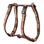 Rogz Fancy Dress Armed Response Dog Harness XLarge / Mocha Bone