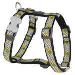 Red Dingo Monty Black XS Dog Harness