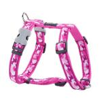 Red Dingo Camouflage Hot Pink Small Dog Harness