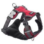 Red Dingo Padded dog harness XS Red