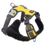 Red Dingo Padded dog harness Medium Yellow
