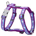 Red Dingo Unicorn Purple Medium Dog Harness