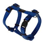 Rogz Utility Nitelife Blue Small Dog Harness