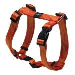 Rogz Utility Snake Orange Medium Dog Harness