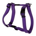 Rogz Utility Fanbelt Purple Large Dog Harness