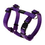 Rogz Utility Nitelife Purple Small Dog Harness