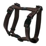 Rogz Utility Snake Brown Medium Harnais