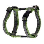 Rogz Fancy Dress Jellybean Dog Harness Small / Lime Bones