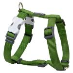 Red Dingo Green Large Dog Harness