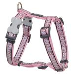 Red Dingo Reflective Pink XS Dog Harness