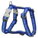 Red Dingo Cosmos Blue Large Dog Harness