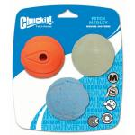 Chuckit Fetch Medley Asst 3 pack Medium
