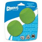 Chuckit Erratic Ball 2 pack Medium