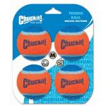 Chuckit Tennis Ball 4 pack Medium