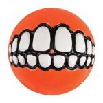 Rogz  Grinz Ball small orange