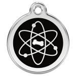 Red Dingo Dog ID Tag Atom Small - NEW