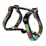 Rogz Fancy Dress Beach Bum Dog Harness Large / PopArt