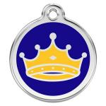 Red Dingo Dog ID Tag King Small