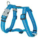 Red Dingo Daisy Chain Turquoise Medium Dog Harness
