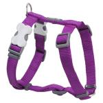 Red Dingo Purple Small Dog Harness