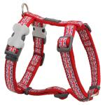 Red Dingo Union Jack Small Dog Harness