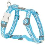 Red Dingo Flanno Turquoise Small Dog Harness