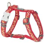 Red Dingo Flanno Red Medium Dog Harness