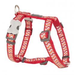 Red Dingo Reflective Ziggy Red Small Dog Harness