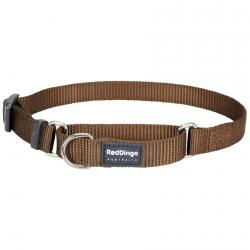 Red Dingo Brown Small Martingale Collar