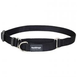 Red Dingo Black Small Martingale Collar