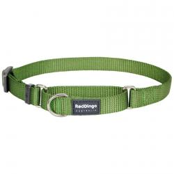 Red Dingo Green Small Martingale Collar