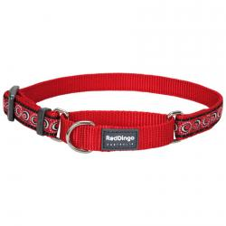 Red Dingo Cosmos Red Small Martingale Collar