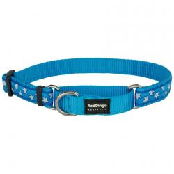 Red Dingo Stars Turquoise Small Martingale Collar