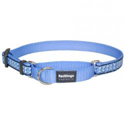Red Dingo Reflective Medium Blue Small Martingale Collar