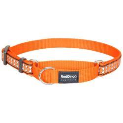 Red Dingo Reflective Orange Small Martingale Collar