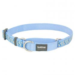 Red Dingo Reflective Ziggy Medium Blue Small Martingale Collar
