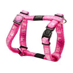 Rogz Fancy Dress Jellybean Dog Harness Small / Pink Paws