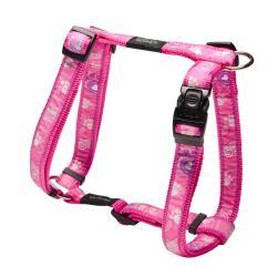 Rogz Fancy Dress Beach Bum Dog Harness Large / Pink Paws