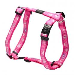 Rogz Fancy Dress Armed Response Dog Harness XLarge / Pink Paws