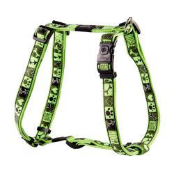 Rogz Fancy Dress Armed Response Dog Harness XLarge / Lime Juice